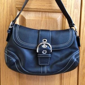 COACH - F10910 Soho Black Shoulder Bag - NWT